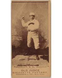 Frank Fennelly, Philadelphia Athletics by Goodwin & Co.
