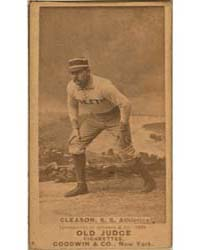 Bill Gleason, Philadelphia Athletics by Goodwin & Co.