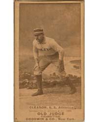 Bill Gleason, Philadelphia Athletics by Goodwin & Co.