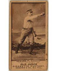 Ed Seward, Philadelphia Athletics by Goodwin & Co.