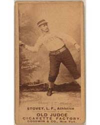 Harry Stovey, Philadelphia Athletics by Goodwin & Co.