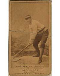 Mike Sullivan, Philadelphia Athletics by Goodwin & Co.