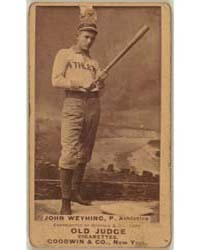John Weyhing, Philadelphia Athletics by Goodwin & Co.