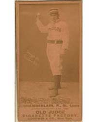 Icebox Chamberlain, St. Louis Browns by Goodwin & Co.