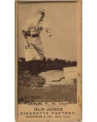 J. Devlin, St. Louis Browns by Goodwin & Co.
