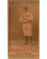 Shorty Fuller, St. Louis Browns by Goodwin & Co.