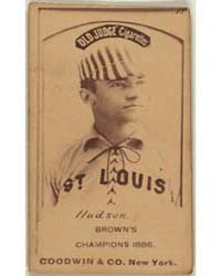 Nat Hudson, St. Louis Browns by Goodwin & Co.