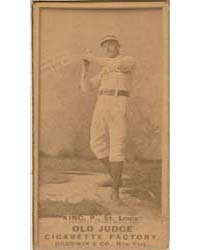 Silver King, St. Louis Browns by Goodwin & Co.