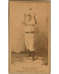 Chippy McCarr, St. Louis Browns by Goodwin & Co.