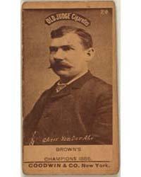 Chris Von Der Ahe, St. Louis Browns by Goodwin & Co.