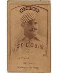 Welch, St. Louis Browns by Goodwin & Co.