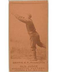 Mike Griffin, Philadelphia Quakers by Goodwin & Co.
