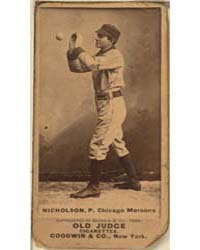J. W. Nicholson, Chicago Maroons by Goodwin & Co.