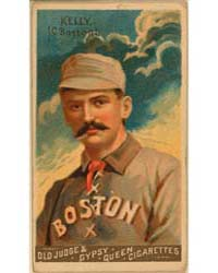 King Kelly, Boston Beaneaters by Goodwin & Co.
