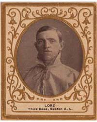 Harry Lord, Boston Red Sox by American Tobacco Company