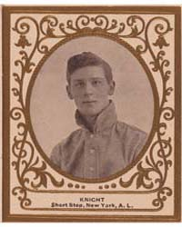 John Knight, New York Highlanders by American Tobacco Company