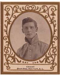 John Knight, New York Highlanders by American Tobacco Company