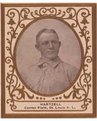 Roy Hartzell, St. Louis Browns by American Tobacco Company