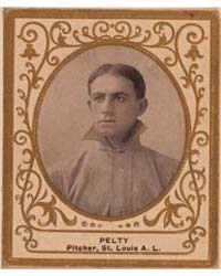 Barney Pelty, St. Louis Browns by American Tobacco Company