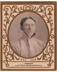 Bob Ganley, Washington Nationals by American Tobacco Company