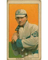Bill Bergen, Brooklyn Dodgers by American Tobacco Company