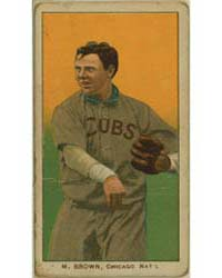Three Finger Brown, Chicago Cubs by American Tobacco Company
