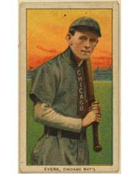 Johnny Evers, Chicago Cubs by American Tobacco Company
