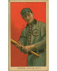 Solly Hoffman, Chicago Cubs by American Tobacco Company