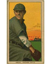 Rube Kroh, Chicago Cubs by American Tobacco Company