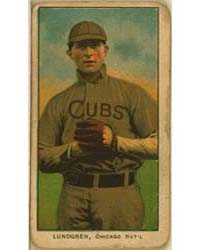 Carl Lundgren, Chicago Cubs by American Tobacco Company