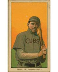 Wildfire Schulte, Chicago Cubs by American Tobacco Company
