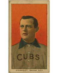 Harry Steinfeldt, Chicago Cubs by American Tobacco Company