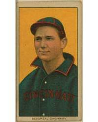 Bob Bescher, Cincinnati Reds by American Tobacco Company