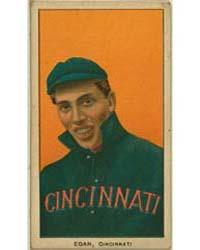 Dick Egan, Cincinnati Reds by American Tobacco Company