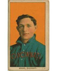 Bob Spade, Cincinnati Reds by American Tobacco Company