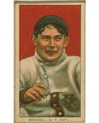 Al Bridwell, New York Giants by American Tobacco Company