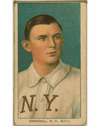 Doc Crandall, New York Giants by American Tobacco Company