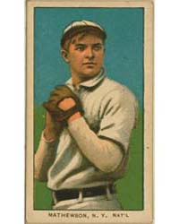 Christy Mathewson, New York Giants by American Tobacco Company