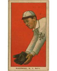 Moose McCormick, New York Giants by American Tobacco Company
