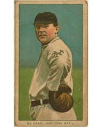 John McGraw, New York Giants by American Tobacco Company