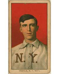 Fred Merkle, New York Giants by American Tobacco Company