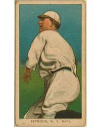 Cy Seymour, New York Giants by American Tobacco Company