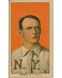 Fred Tenney, New York Giants by American Tobacco Company