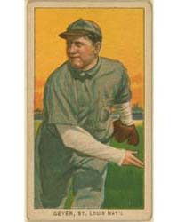 Rube Geyer, St. Louis Cardinals by American Tobacco Company