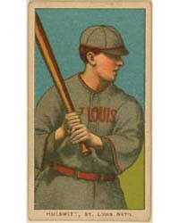 Rudy Hulswitt, St. Louis Cardinals by American Tobacco Company