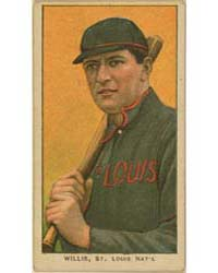 Vic Willis, St. Louis Cardinals by American Tobacco Company