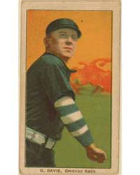 G. Davis, Chicago White Sox by American Tobacco Company