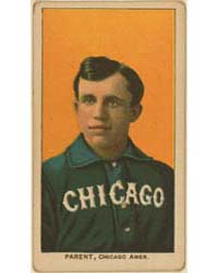 Freddy Parent, Chicago White Sox by American Tobacco Company