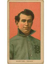 Matty McIntyre, Detroit Tigers by American Tobacco Company