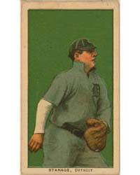 Oscar Stanage, Detroit Tigers by American Tobacco Company